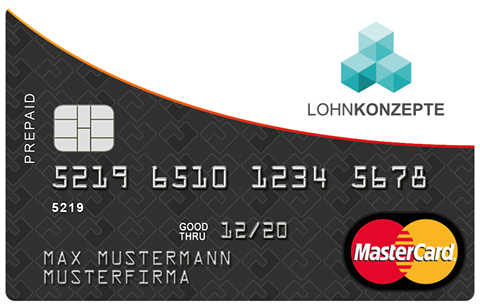 Lohnkonzepte Beispiel MasterCard
